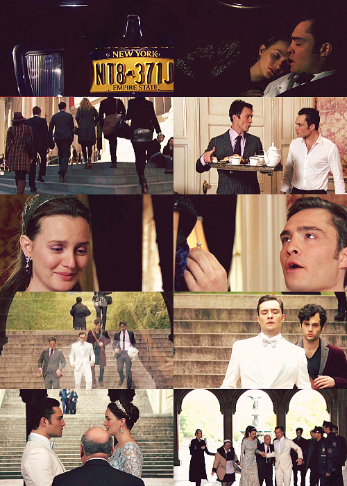 Gossip Girl New York I Love You Xoxo Quotes : Blair & Chuck 6x10 New York I love you, xoxo series finale / Ch...