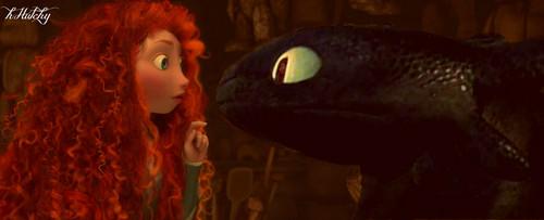 A Dragon and A Princess
