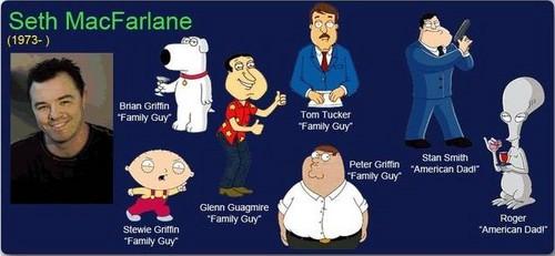 A few of Seth's characters