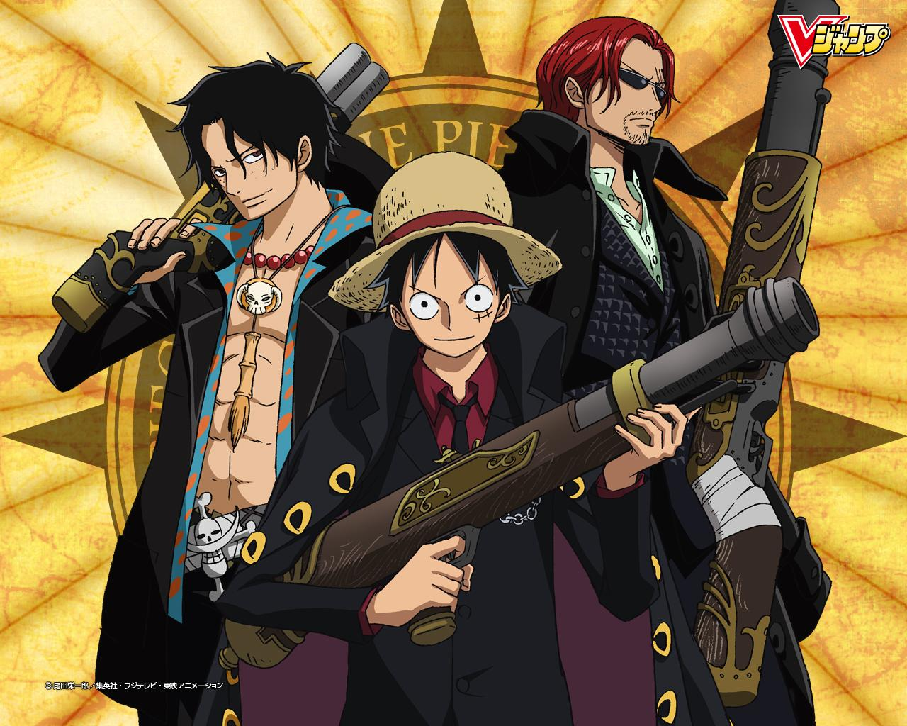 One Piece AceLuffyShan...