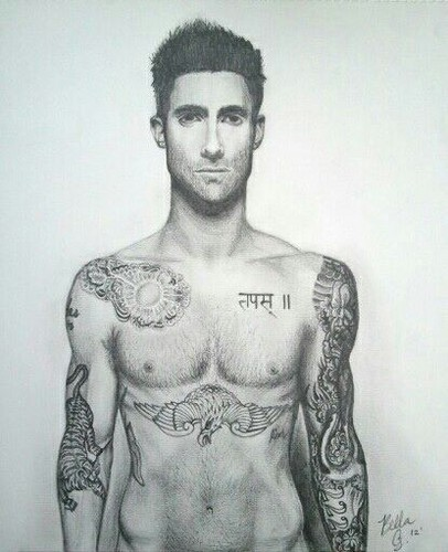Adam Levine Fan Art Sketch