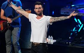 Adam Levine wallpaper possibly with a concert and a guitarist entitled Adam Levine