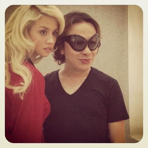 Allison with Michael Cinco