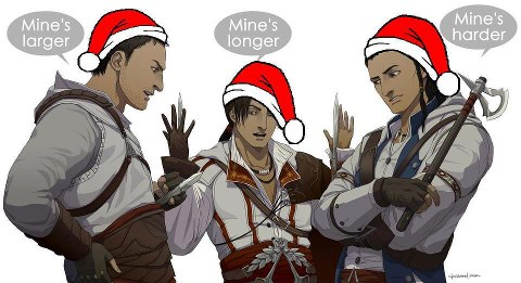 Altair, Ezio, Connor