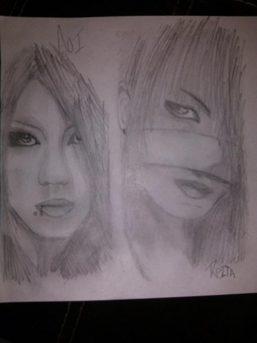 Aoi and Reita Drawing