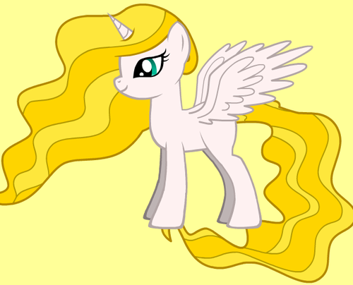 Aphrodite as a My Little pony
