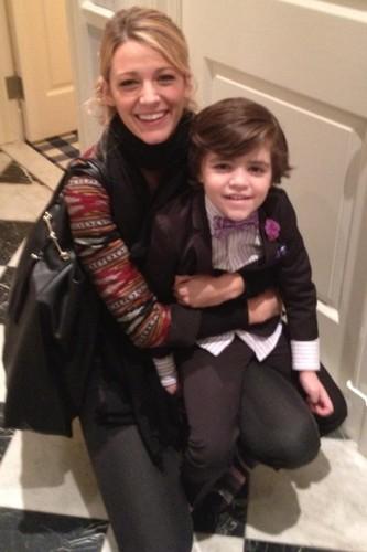 Auntie Serena ♥ (Blake and Alex)