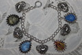 Avatar 4 Nations Emblems charm bracelet - avatar-the-last-airbender fan art