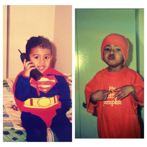 Awwww Prince & that's Princeton when he was a baby!!!!! :) ;) <3 ;* ;D