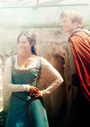 Bangtan Boys - angel Coulby and Bradley James