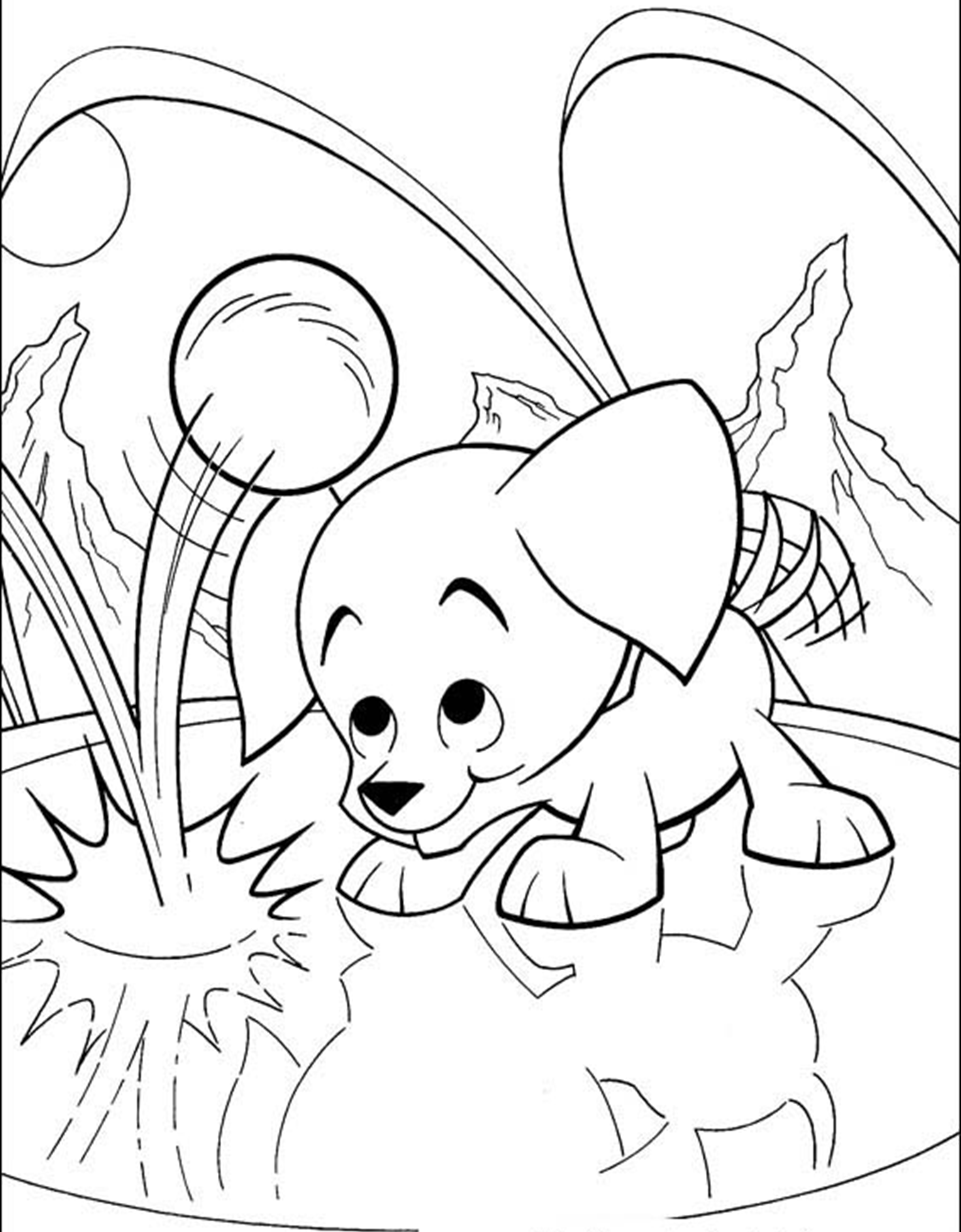 superman and superdog coloring pages - photo#12