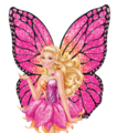 Barbie Mariposa and the Fairy Princess PNG