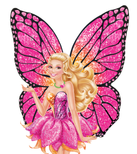 Barbie: Mariposa and the Fairy Princess wallpaper probably with a rose entitled Barbie Mariposa and the Fairy Princess PNG