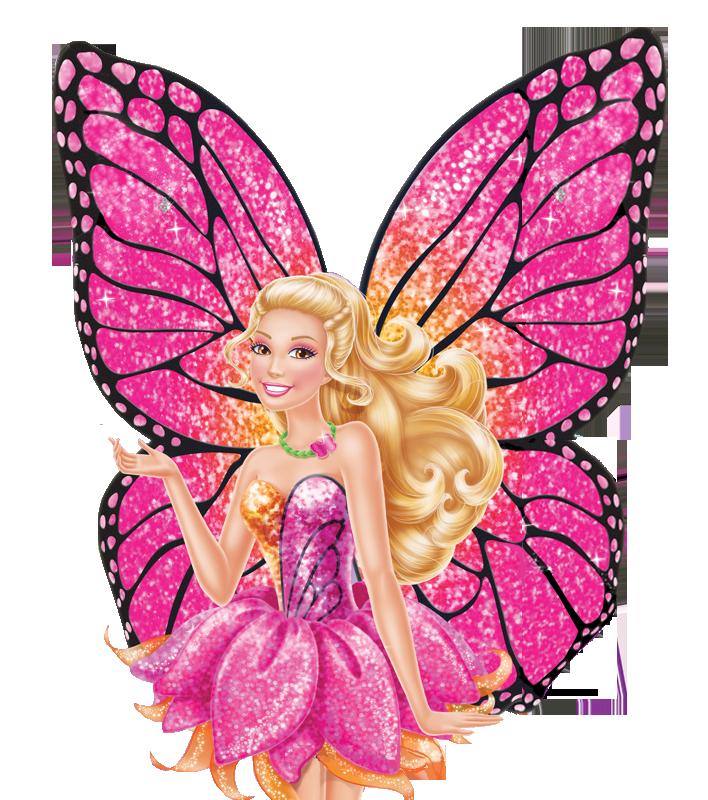 バービー Mariposa and the Fairy Princess PNG