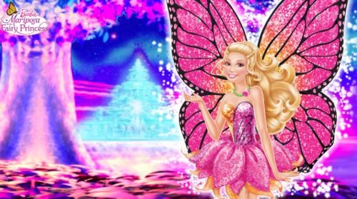 Barbie Mariposa And The Fairy Princess Wallpaper Barbie