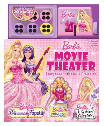 barbie Movie Theatre Book