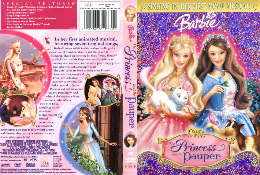 Barbie Filme DVD covers