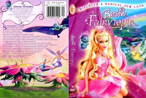 Barbie films DVD covers