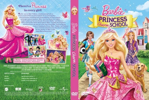 Sinema za Barbie karatasi la kupamba ukuta possibly containing anime titled Barbie sinema DVD covers