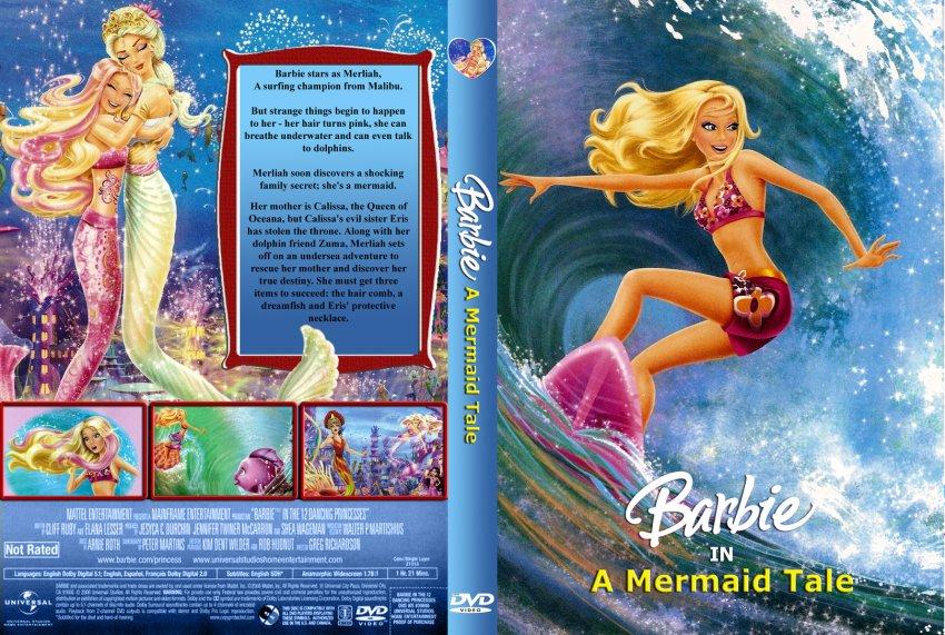 バービー 映画 DVD covers