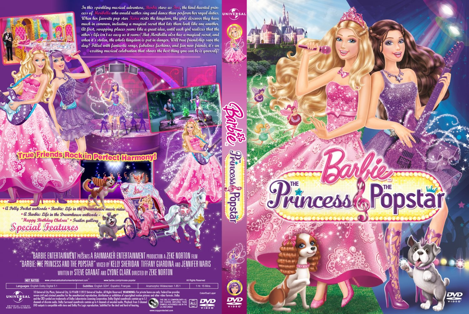 Barbie sinema DVD covers