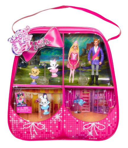 barbie in The rosa, -de-rosa Shoes Small Doll Gift Bag 2013