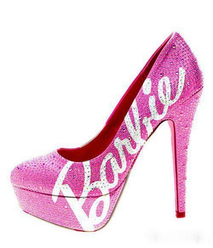 Women's Shoes wallpaper titled Barbie shoe