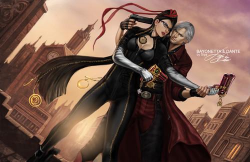 Bayonetta vs Dante