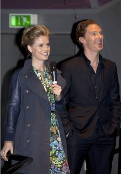 Benedict Cumberbatch & Alice Eve