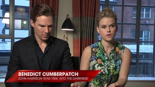 Benedict Cumberbatch & Alice Eve