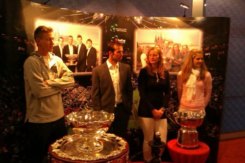 Berdych,Stepanek,Kvitova,Safarova