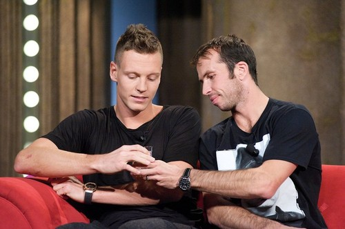 Berdych and Stepanek talk show