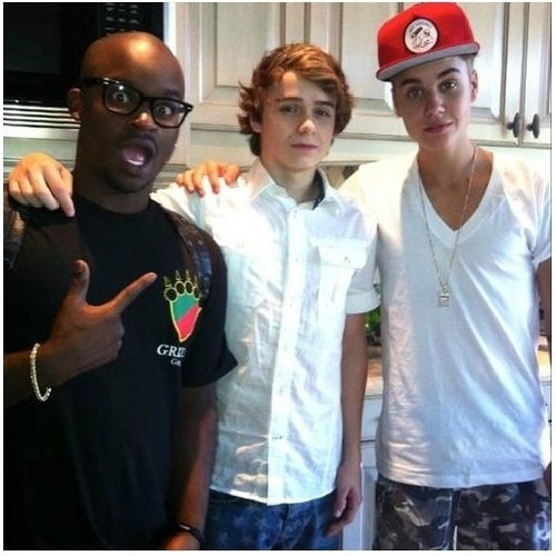 Bieber and Christian Beadles