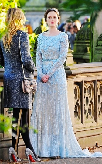 Blair wedding gown gossip girl photo 33086772 fanpop for Wedding dress blair waldorf