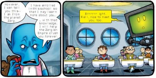 Blue Kid's Intro