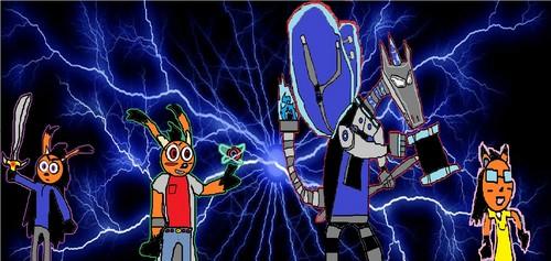 Blue lightning makes everything awesome