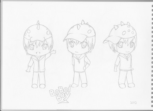 Boboiboy Chibi Fan art