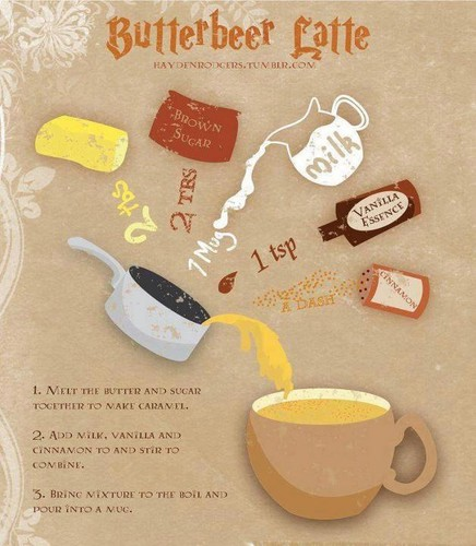 Butterbeer Recipie