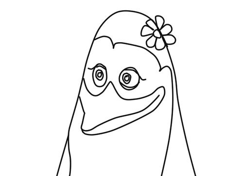 Calisa The پینگوئن, پیںگان