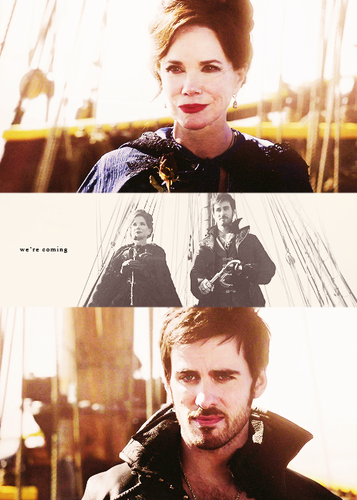 Captain Hook & Cora
