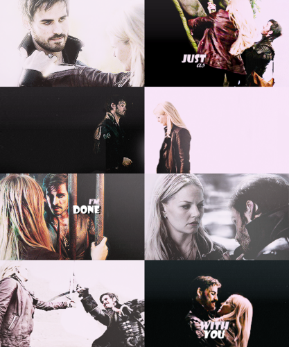 Captain Hook & Emma cigno
