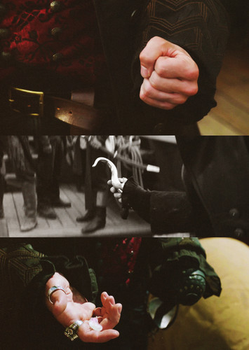 Captain Hook + hands