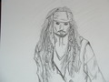 Captain Jack Sparrow - drawing fan art