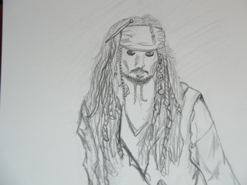 Drawing वॉलपेपर called Captain Jack Sparrow
