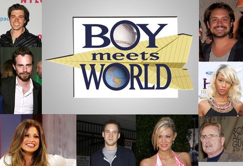 Boy Meets World wallpaper called Cast of BMW