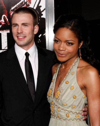 Chris Evans & Naomie Harris