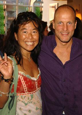 Woody Harrelson & Laura Louie
