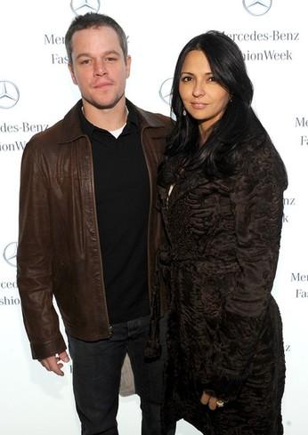 Matt & Luciana Damon
