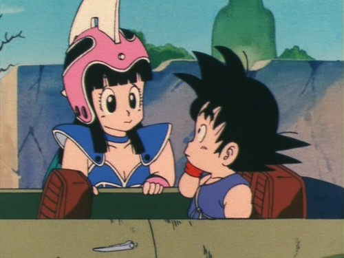 Chichi X goku (Wedding Promise) Screencaps