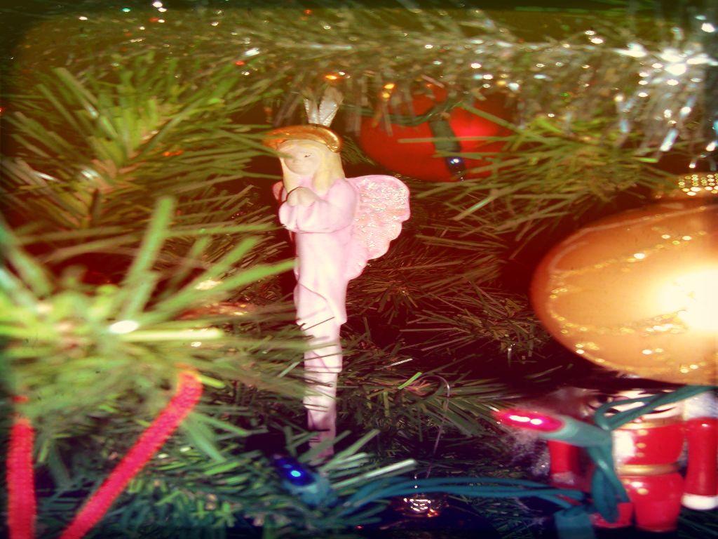 Christmas Angel پیپر وال